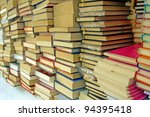 Pile Of Old Books For Sale To...