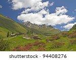 idyllic pastures during the...   Shutterstock . vector #94408276