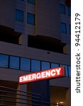 Red Emergency Department...