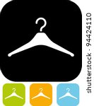 hanger   vector icon | Shutterstock .eps vector #94424110