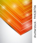 orange business template.... | Shutterstock .eps vector #94428706