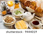 breakfast set | Shutterstock . vector #9444019