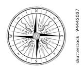 vintage compass for design... | Shutterstock .eps vector #94443037