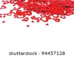 valentine's hearts | Shutterstock . vector #94457128