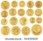 Gold Coins Collection   Vintage ...