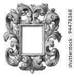 decorative vintage frame  ... | Shutterstock .eps vector #94478368