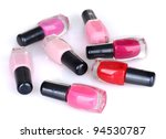 group of nail polishes isolated ... | Shutterstock . vector #94530787