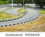 go kart race track. | Shutterstock . vector #94536418