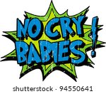 cry baby | Shutterstock .eps vector #94550641