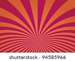 abstract curved stripes... | Shutterstock .eps vector #94585966