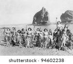 SEA ANGELS - stock photo