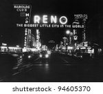 Reno Nevada  Circa 1950s