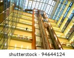 lifts in a modern building | Shutterstock . vector #94644124