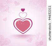 valentines abstract | Shutterstock .eps vector #94652311