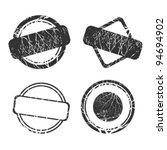 set of stamp   Shutterstock .eps vector #94694902