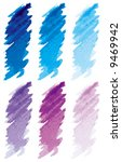 strokes blue   violet | Shutterstock .eps vector #9469942