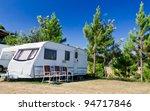 Caravans  Camping In The Park...