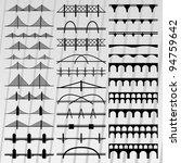 Bridge Silhouettes Illustratio...