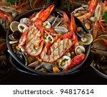 seafood. prepared shellfish.... | Shutterstock . vector #94817614
