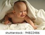 picture of one happy child with ... | Shutterstock . vector #94822486