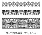 vector border ornaments. decor... | Shutterstock .eps vector #9484786