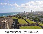 View Of San Juan From Castillo...