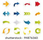 arrow collection. vector | Shutterstock .eps vector #94876360