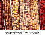 Indian Corn Background