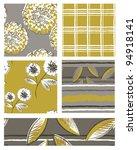 modern floral dahlia vector... | Shutterstock .eps vector #94918141