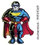 superhero | Shutterstock .eps vector #94919269