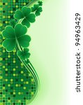 Clover Background For The St....