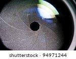 aperture blade of camera lens | Shutterstock . vector #94971244