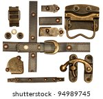 Collection Of Metal And Leathe...