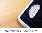 Stock photo analog weight scale isolated 95021029