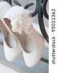 Light Colored Wedding Shoes On...