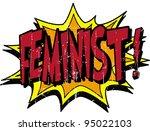 feminist | Shutterstock .eps vector #95022103