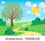 Spring Theme Landscape 1  ...