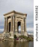 monument of garden of peyrou ... | Shutterstock . vector #95068582