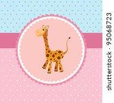 giraffe   Shutterstock .eps vector #95068723