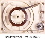 Small photo of 8-track tape internals