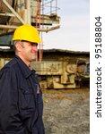 heavy mining industry worker... | Shutterstock . vector #95188804
