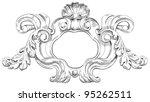 vintage frame. bitmap copy my...   Shutterstock . vector #95262511
