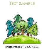 forest | Shutterstock .eps vector #95274811