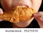 A Girl Tasted Fried Chicken...