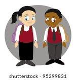cartoon vector illustration of... | Shutterstock .eps vector #95299831