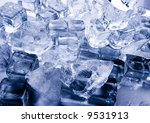 ice background | Shutterstock . vector #9531913