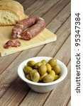 Country appetizer - stock photo