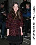 anna popplewell arriving for... | Shutterstock . vector #95348308