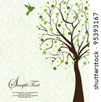 family reunion invitation card | Shutterstock .eps vector #95393167