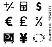 vector business icons set 5 | Shutterstock .eps vector #95425993